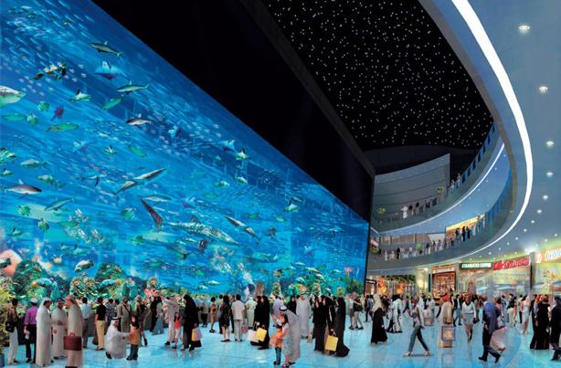 Dubai shopping mall - Travel guide to Dubai