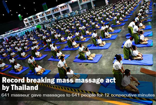 Mass Massage Act Thailand - One of the 10 most interesting facts about Thailand